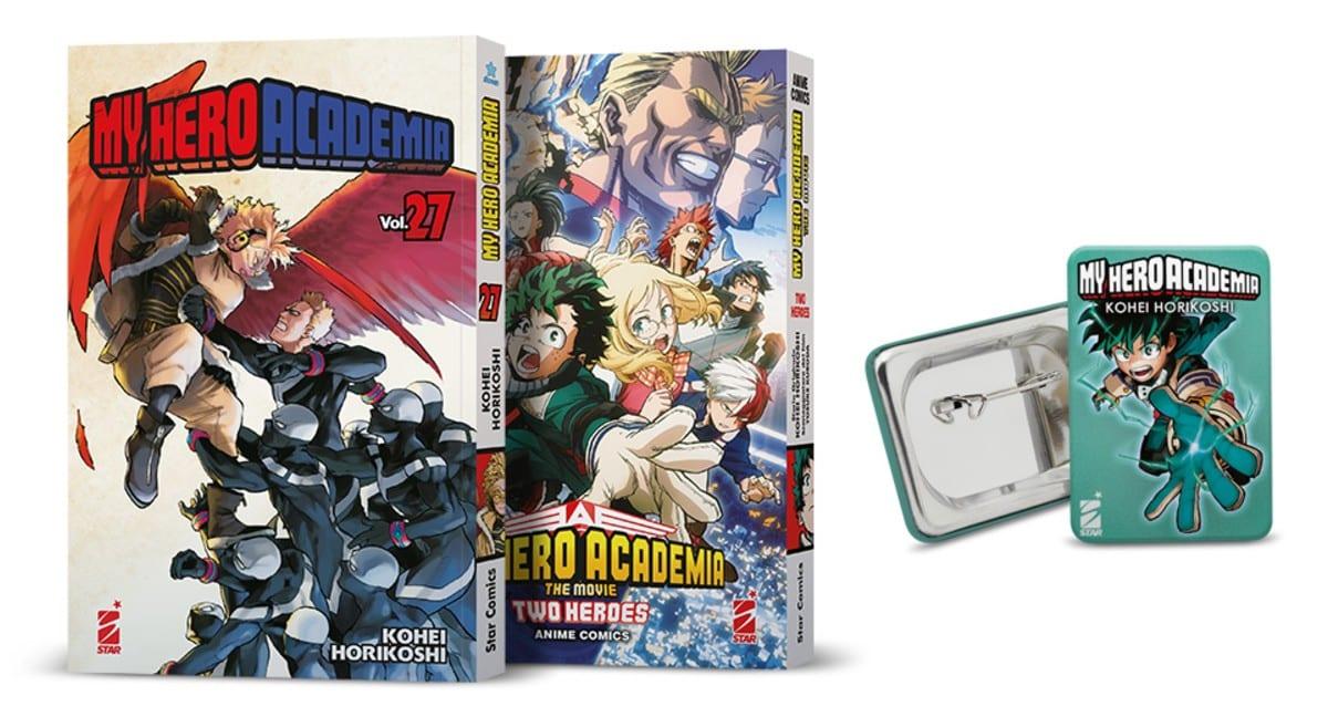 Star Comics: le edizioni speciali dei manga in arrivo nel 2021