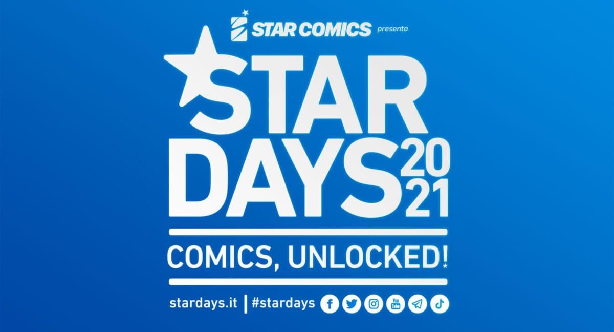 Star Days 2021: l'evento Star Comics torna con un nuovo format