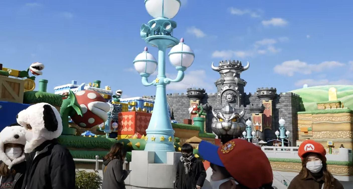 Super Nintendo World: il parco tematico si mostra in ogni dettaglio in alcuni nuovi video