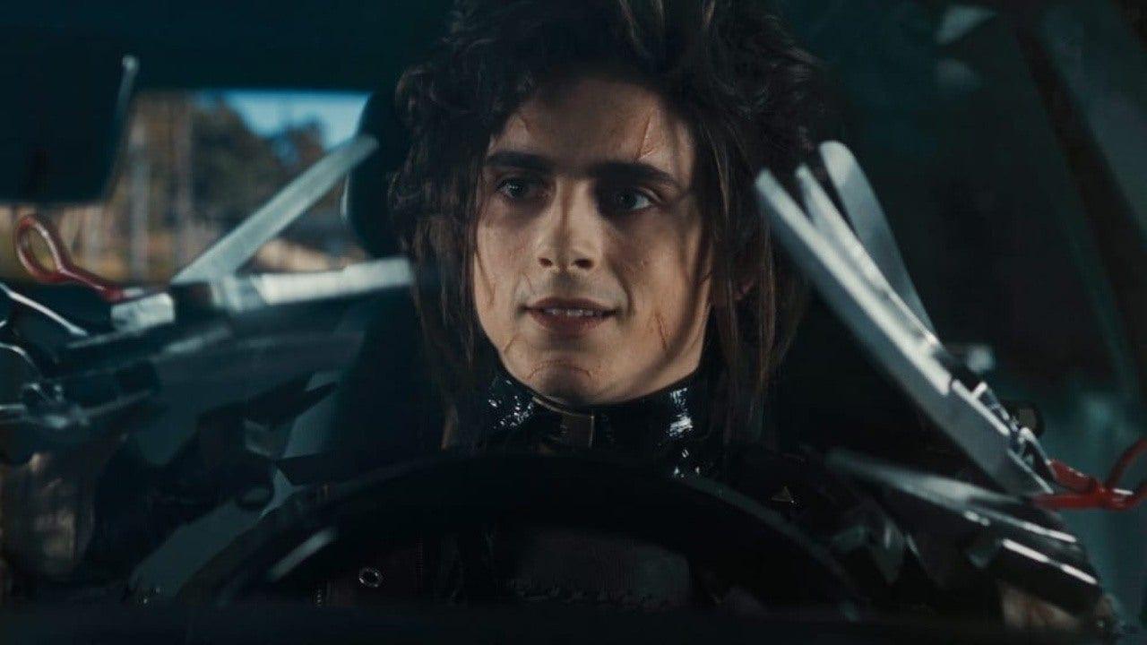 Tim Burton elogia lo spot su Mani di Forbice con Timothée Chalamet