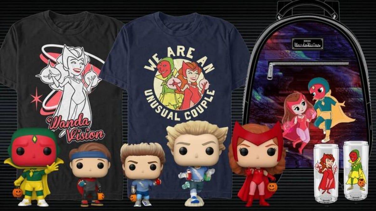 WandaVision: il merchandise dedicato alla serie Marvel