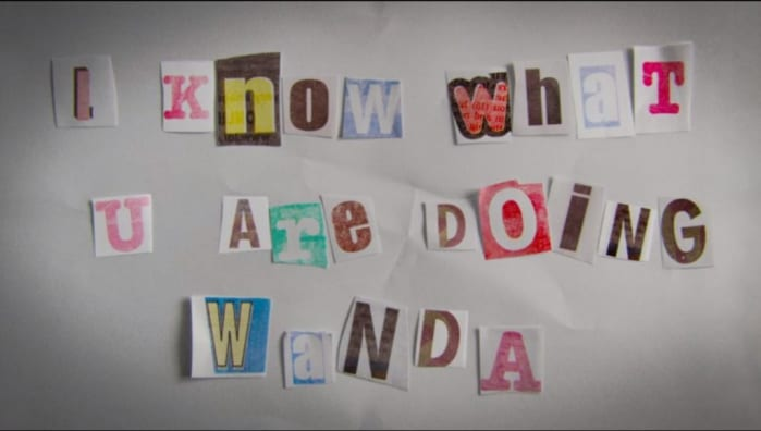 WandaVision messaggio nascosto
