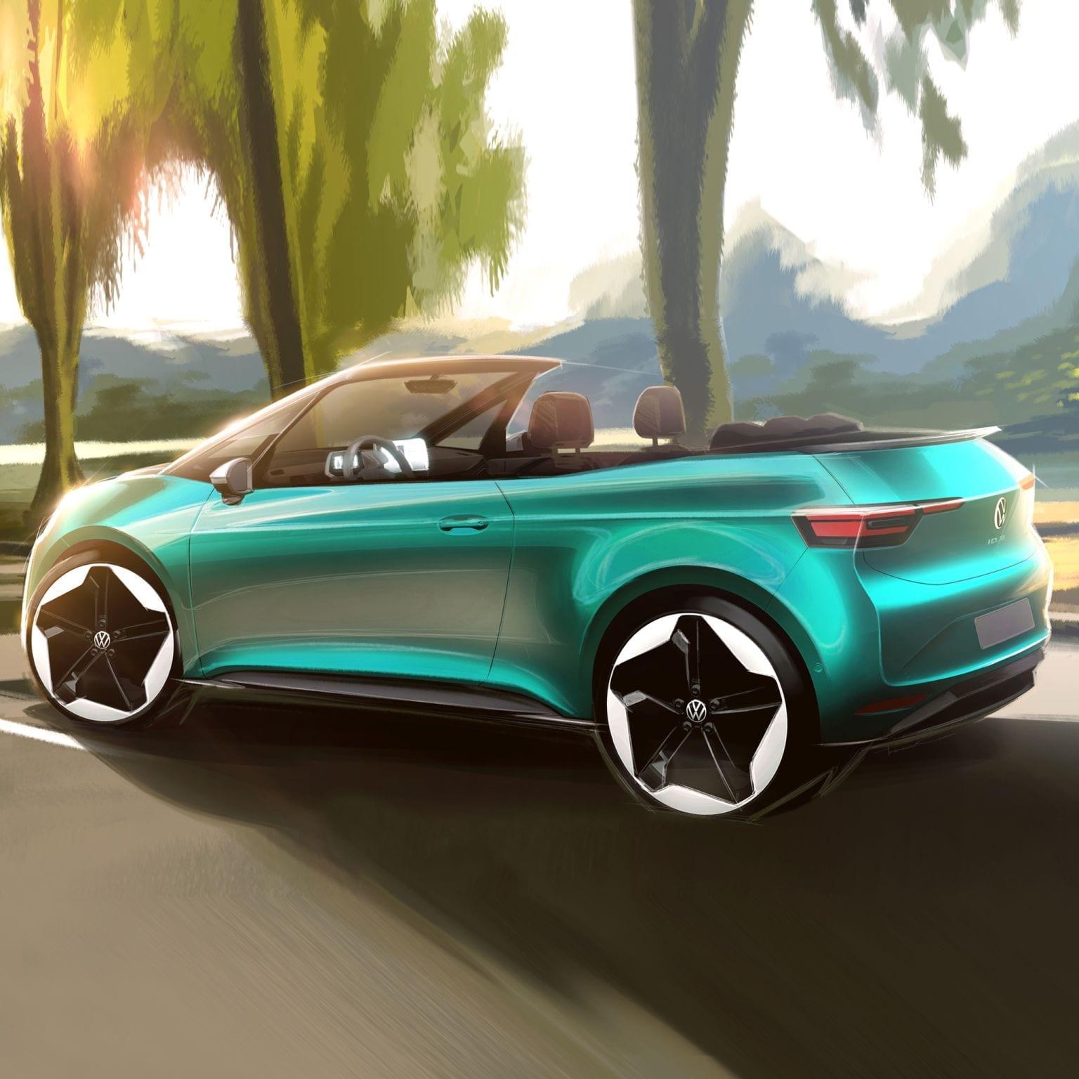 """Volkswagen ID.3: anche cabrio? """"È un'idea invitante"""", parola del CEO"""