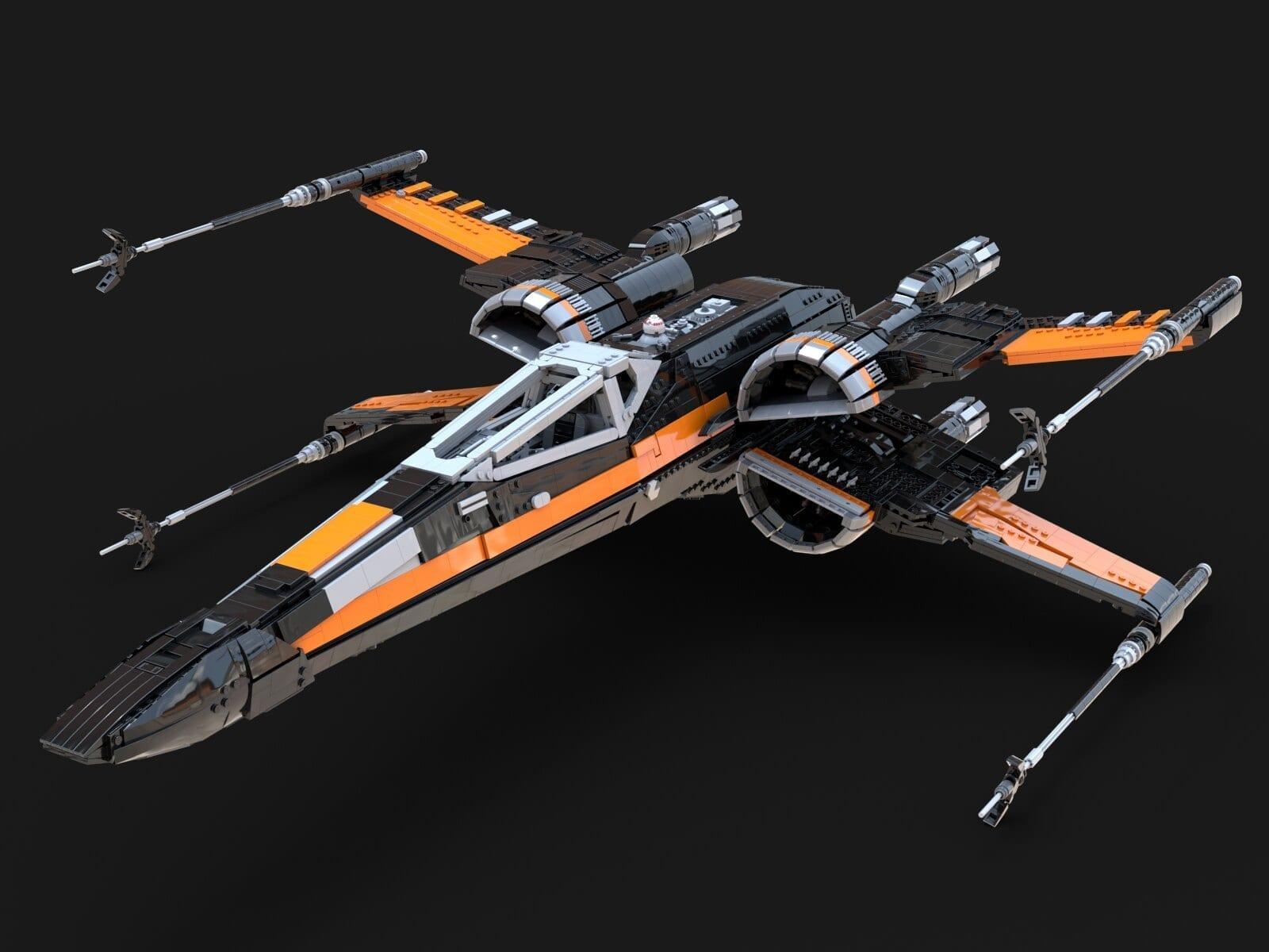 LEGO X-Wing, la versione UCS di Jared Reisweber