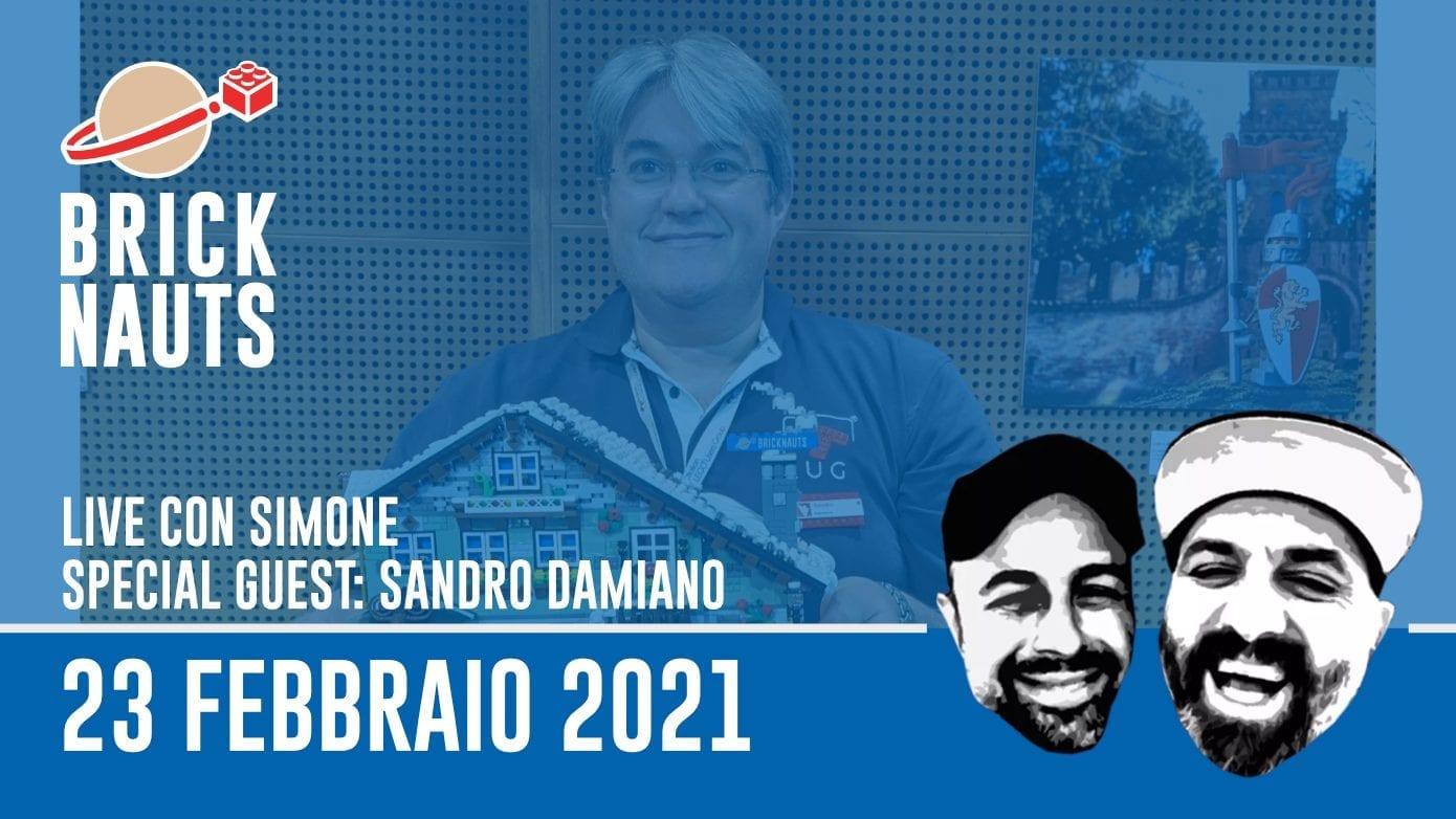 Bricknauts Live: intervista a Sandro Damiano