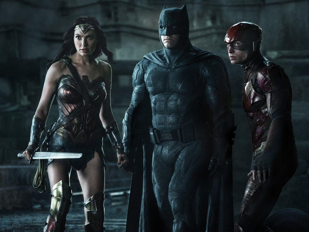 Batman Wonder Woman Flash