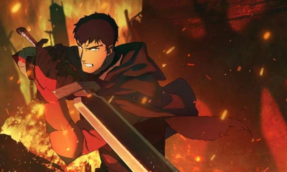 DOTA: Dragon's Blood, i character poster dell'anime Netflix
