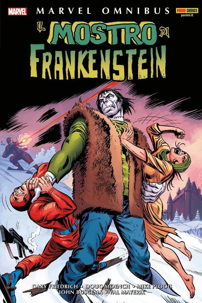 Il Mostro Frankeinstein: le storie anni '70 raccolte in unico volume