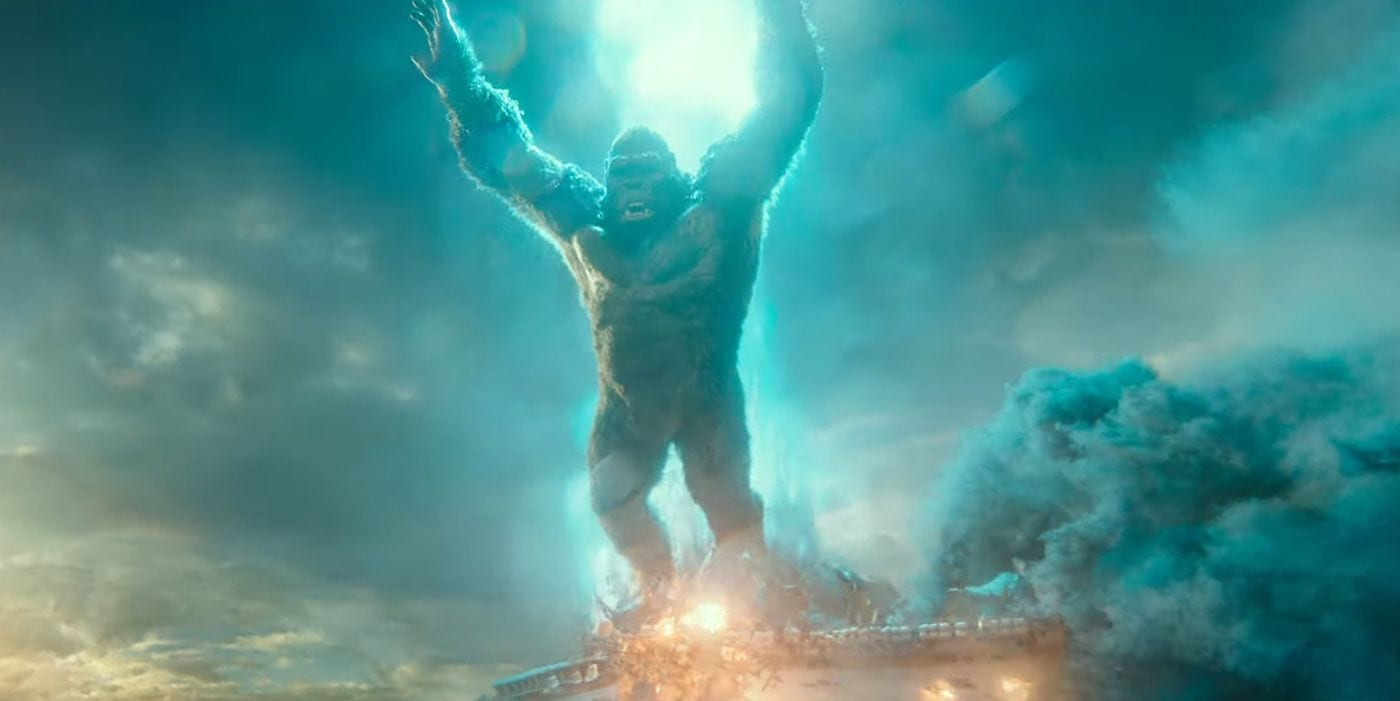 Godzilla vs Kong: rivelata la durata del film del Monsterverse
