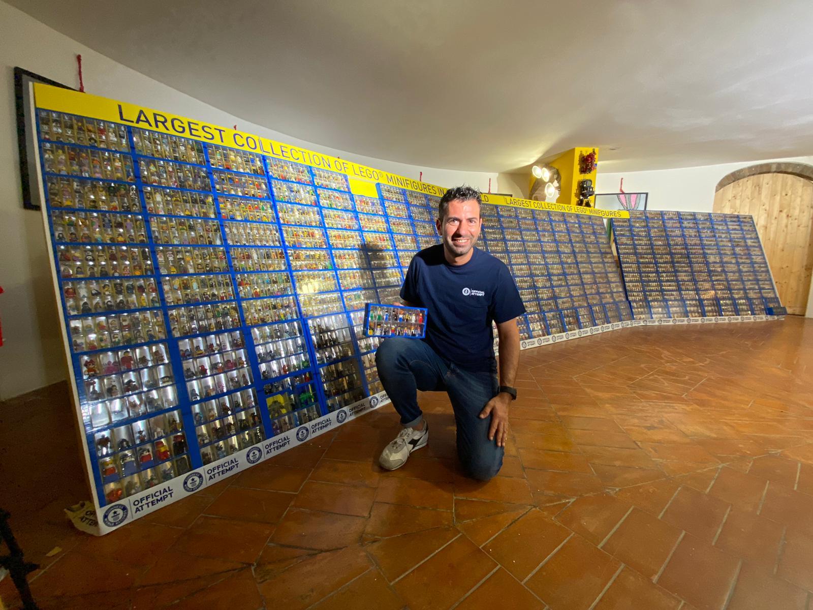 LEGO e Guinness World Record: Fabio Bertini ha aggiornato il suo record di minifigure LEGO