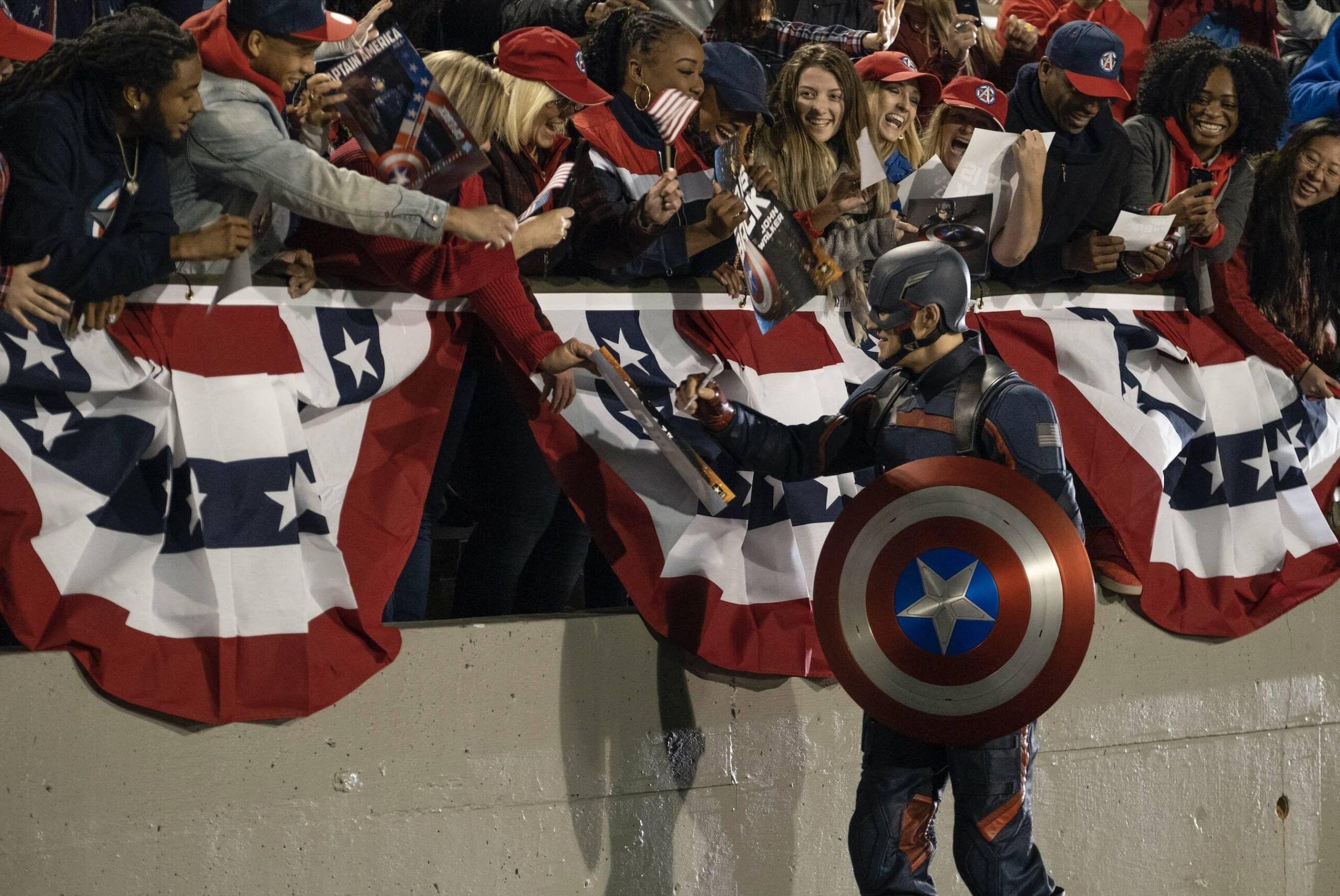 easter egg del secondo episodio di Falcon and The Winter Soldier -John Walker Captain America
