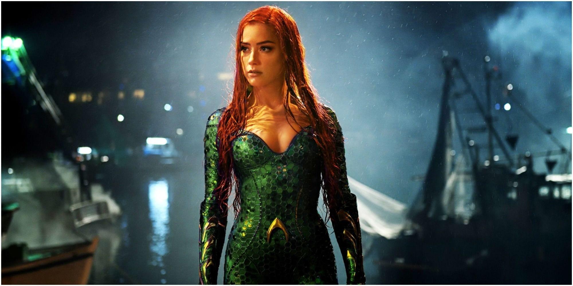 Amber Heard: nuove voci sul licenziamento da Aquaman 2 smentite