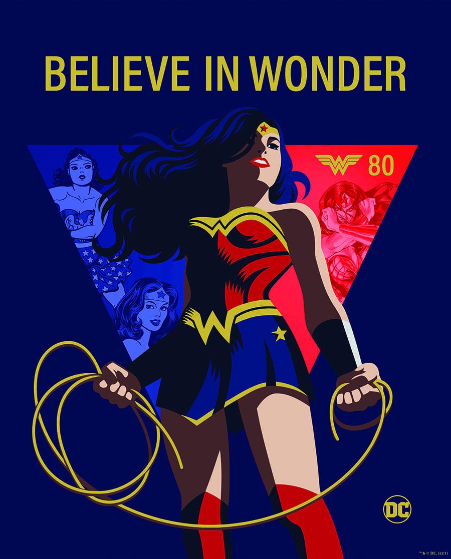Wonder Woman 80 anniversario
