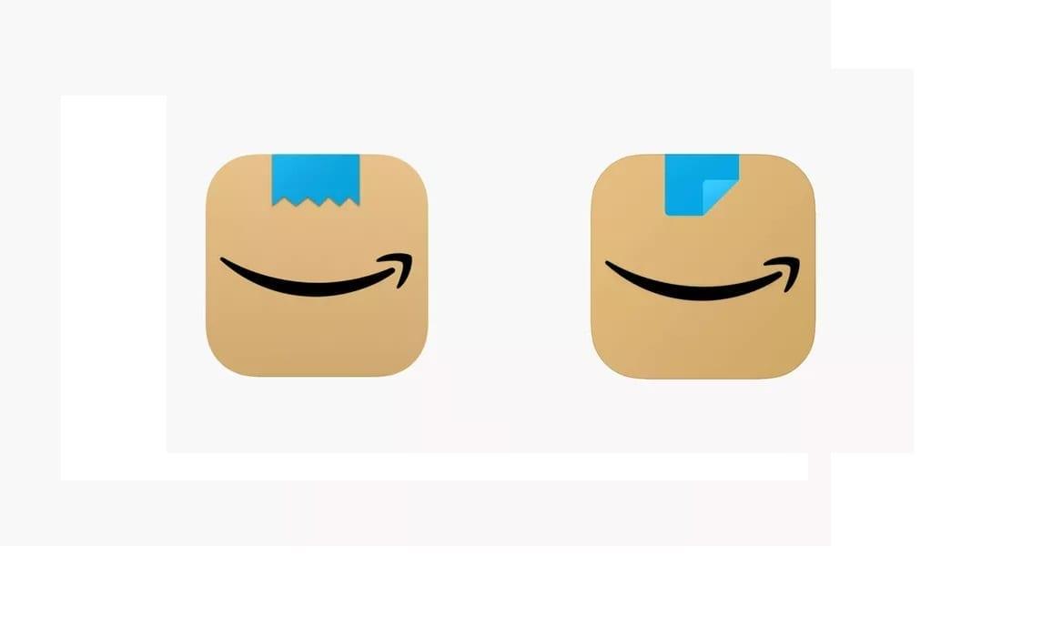 Amazon, cambia ancora l'icona dell'app: ricordava troppo i baffi di Hitler