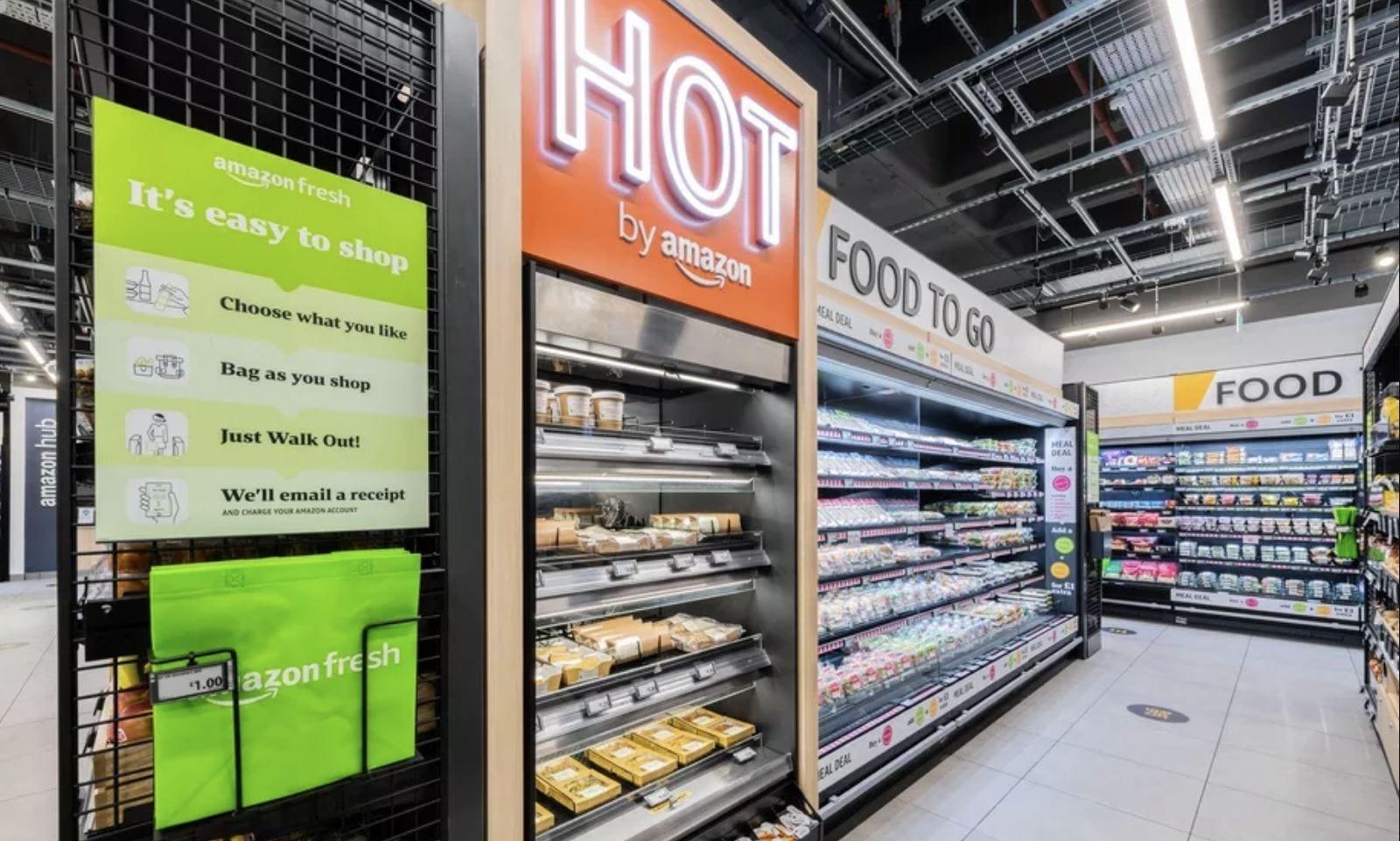Amazon ha aperto il primo supermercato senza casse in Europa, si trova a Londra