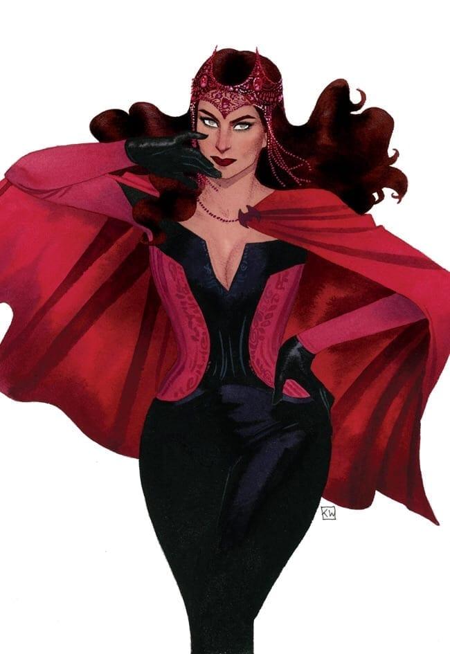 analisi del finale di WandaVision - Scarlet Witch Costume