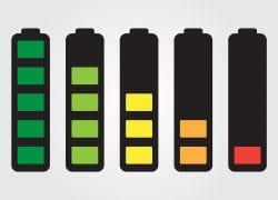 livello batteria