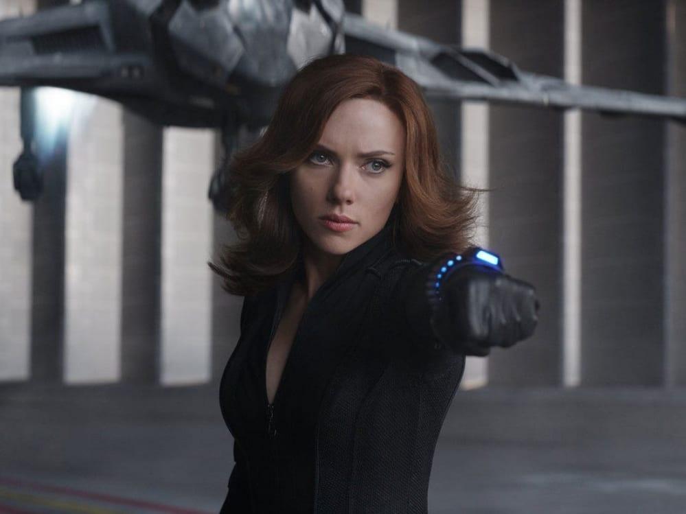 Black Widow foto costume Scarlett Johansson