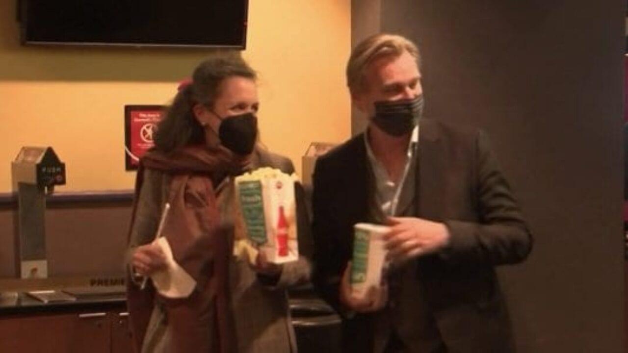 Christopher Nolan tra i primi spettatori alla riapertura del cinema AMC Theater di Burbank
