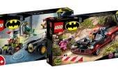 LEGO Batmobile, prime immagini di due nuovi set dedicati all'auto di Batman [AGGIORNATO]