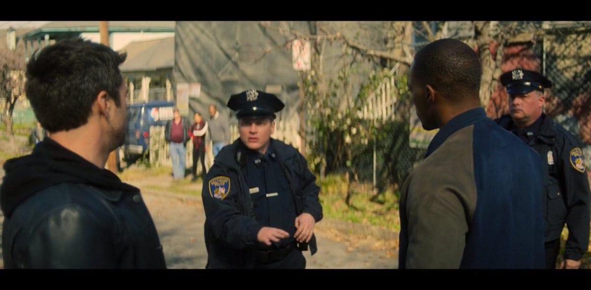 easter egg del secondo episodio di Falcon and The Winter Soldier - police