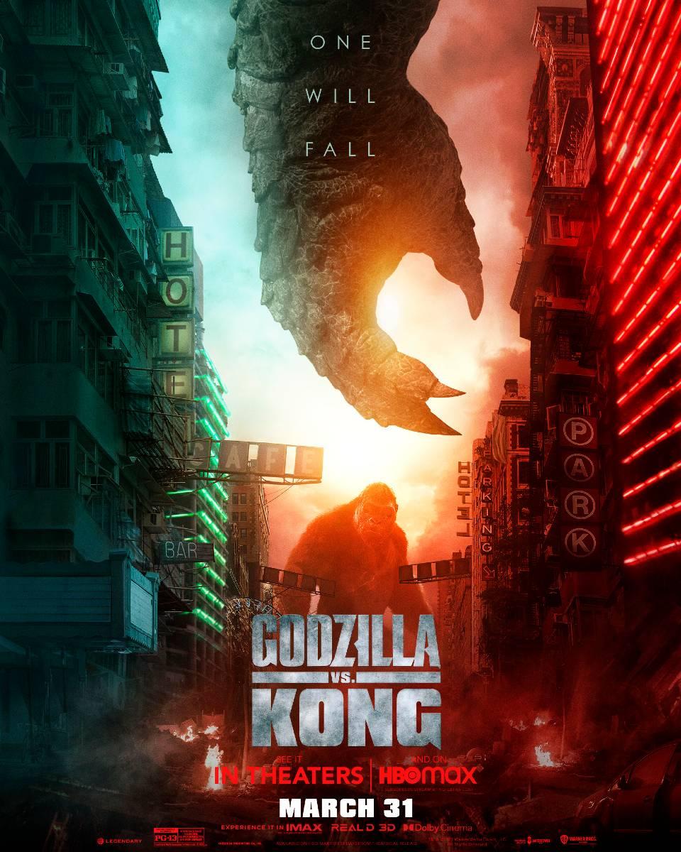 il nuovo poster di Godzilla vs Kong