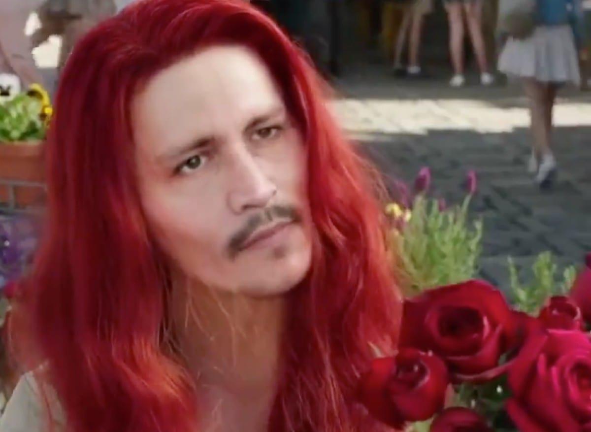 Johnny Depp al posto di Amber Heard in Aquaman grazie al deepfake