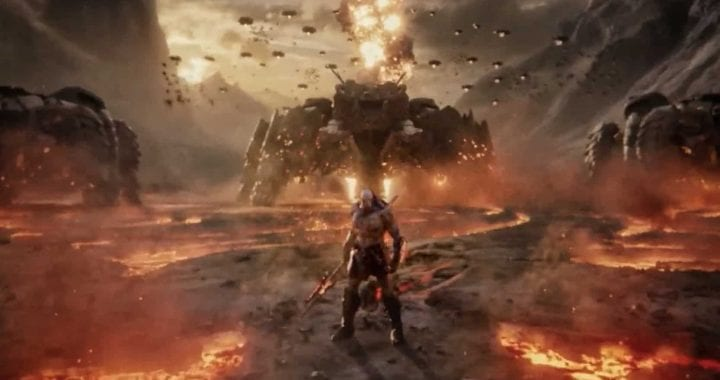 Justice League Snyder Cut: un teaser trailer mostra Darkseid, Joker e Deathstroke