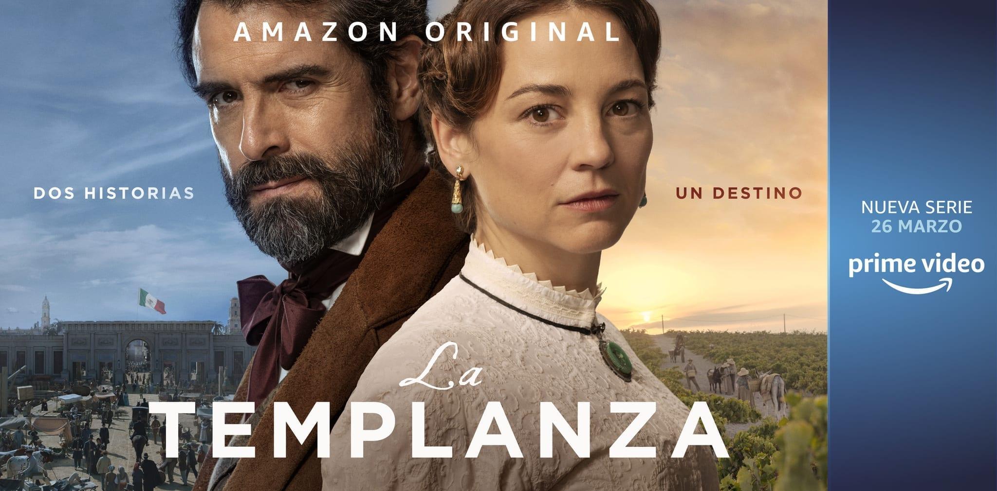 La Templanza: il trailer e il poster della serie tv spagnola di Amazon