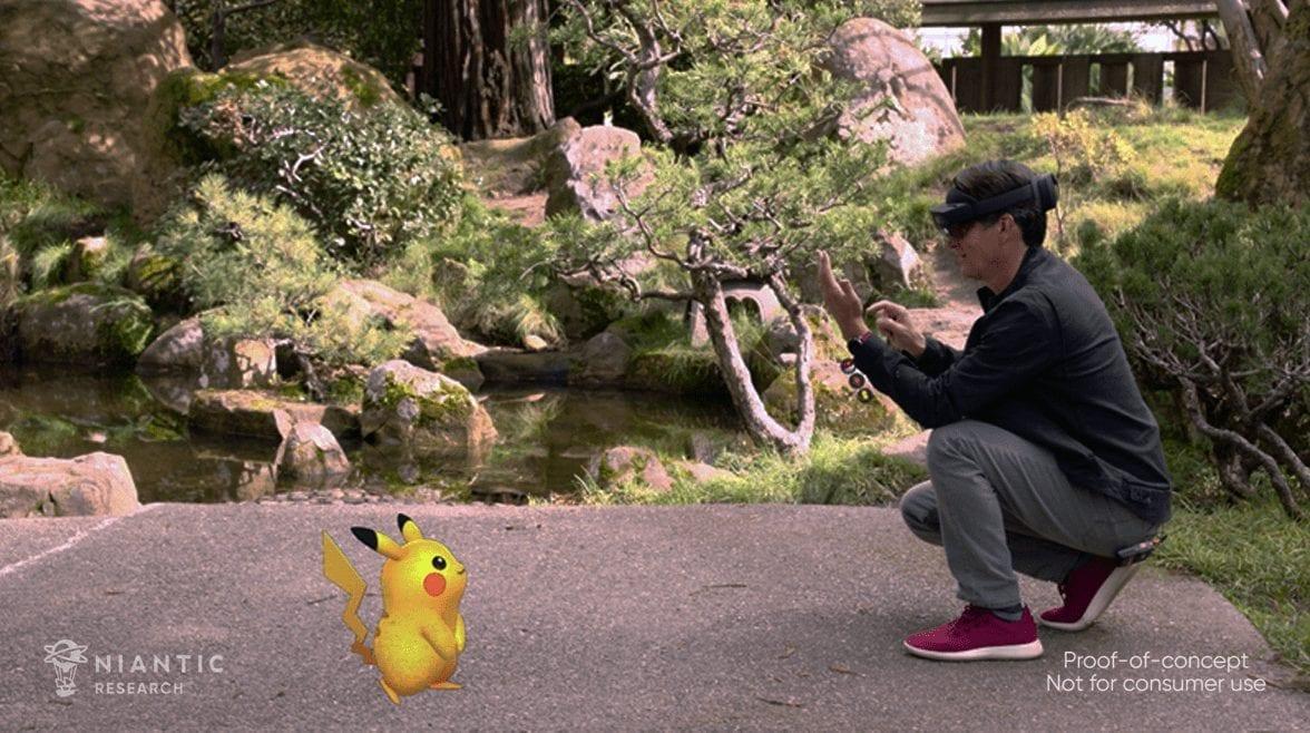 Niantic collabora con Microsoft a un Pokémon Go in realtà aumentata tramite Hololens?