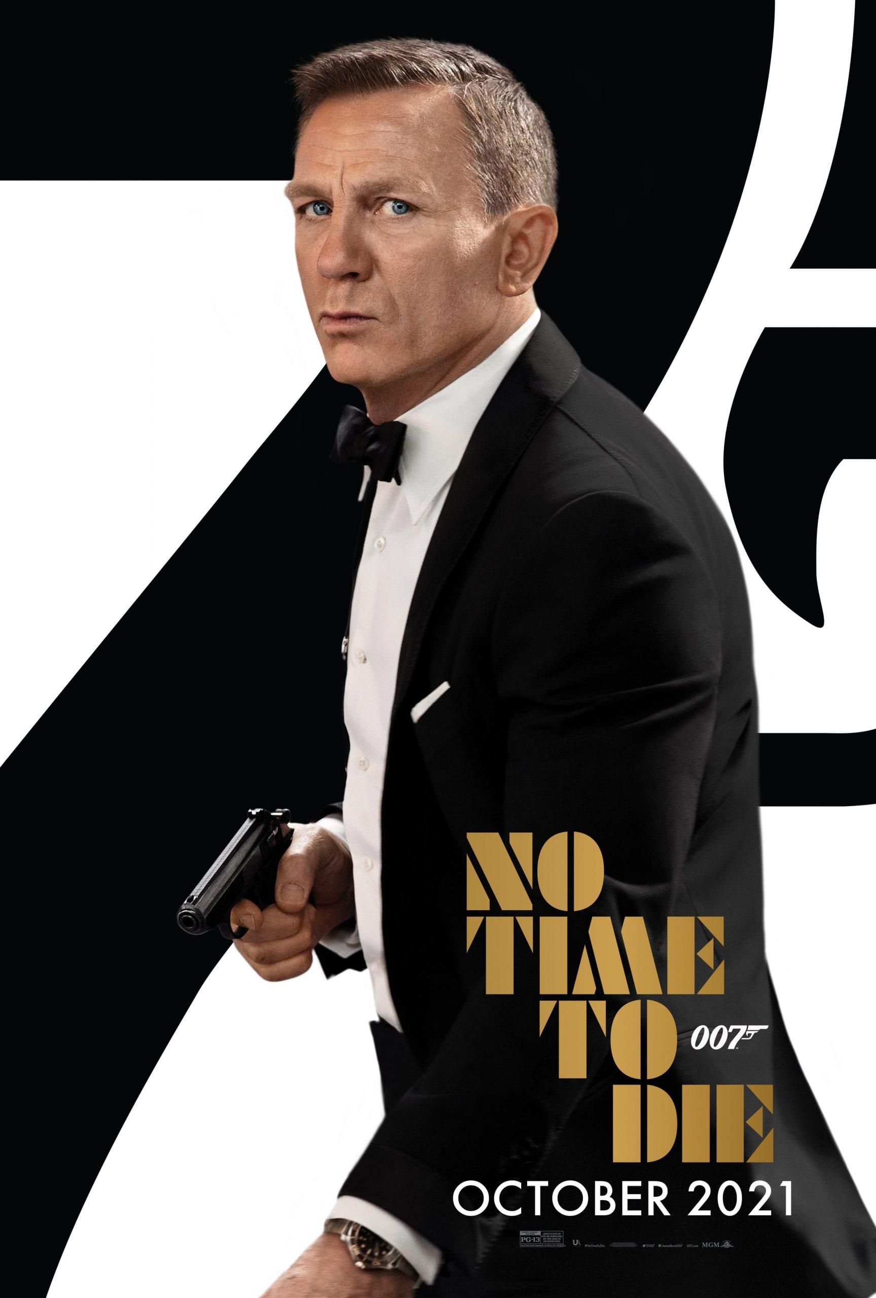 No TIme To Die nuovo poster conferma data di uscita ottobre