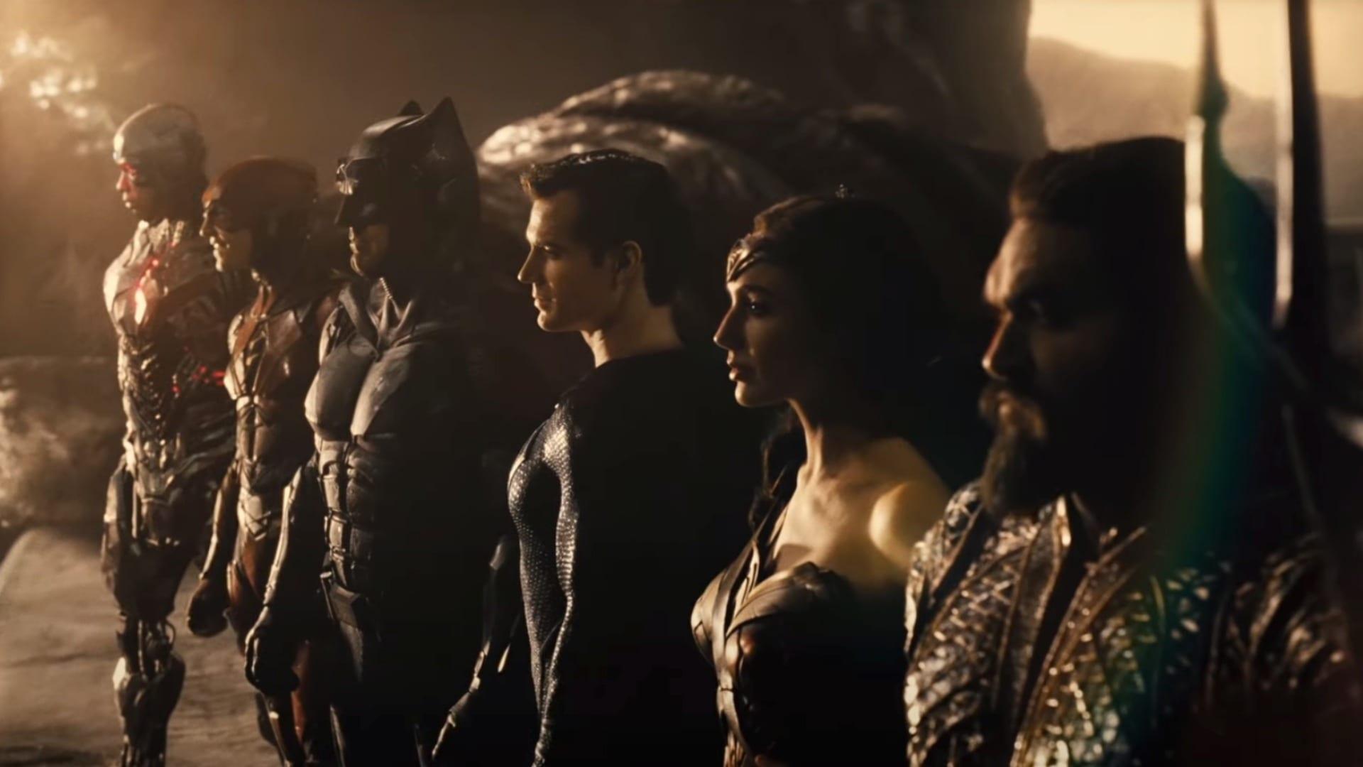 recensione di Zack Snyder's Justice League - heroes