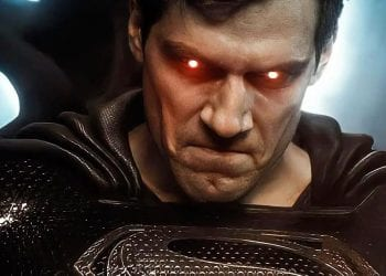 recensione di Zack Snyder's Justice League - superman nero