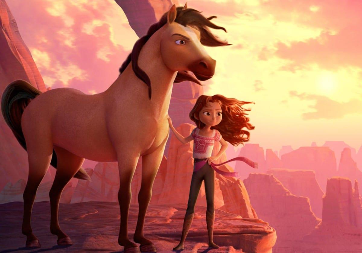 Spirit - Il Ribelle: il poster ufficiale del film d'animazione