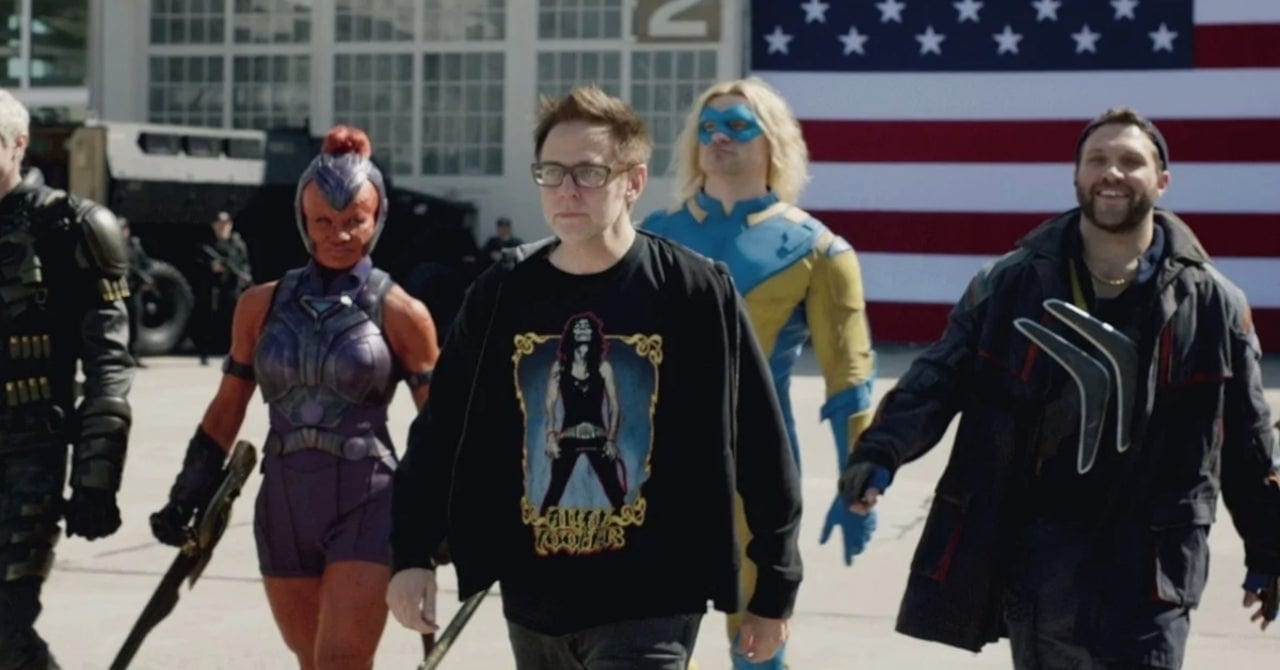 the suicide squad, james gunn