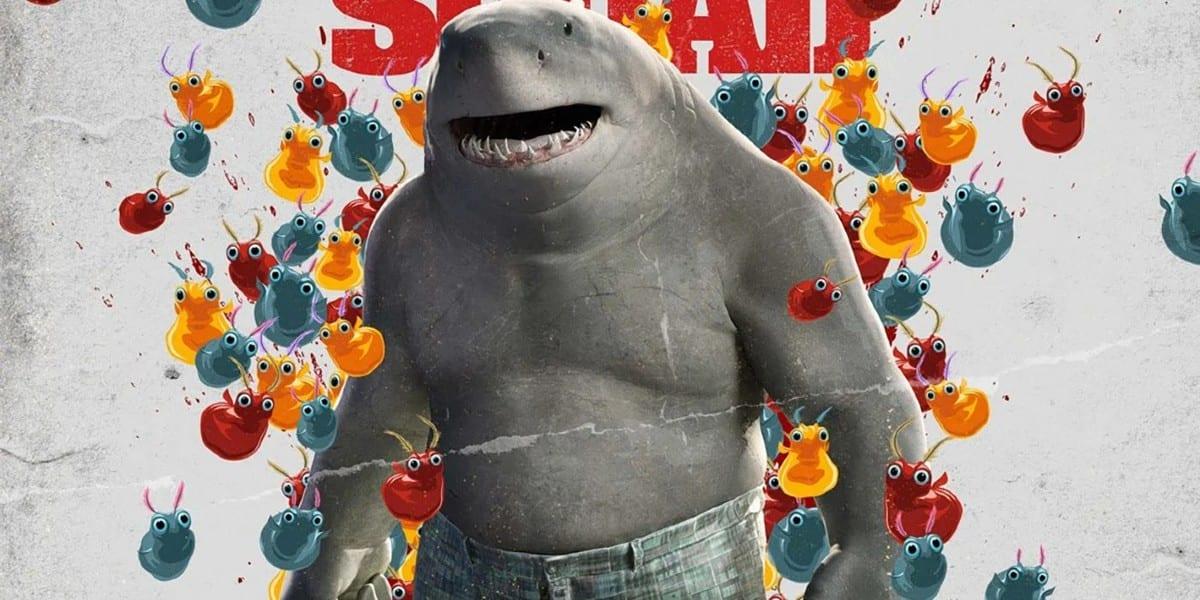 The Suicide Squad: King Shark e la fan cam con Baby Shark