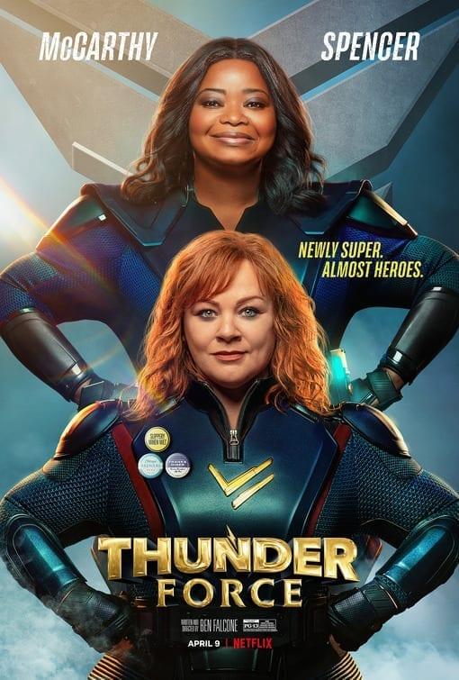 Thunder Force poster film Netflix