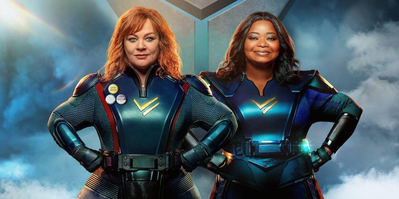 Thunder Force: un poster del nuovo film di Netflix è uscito online