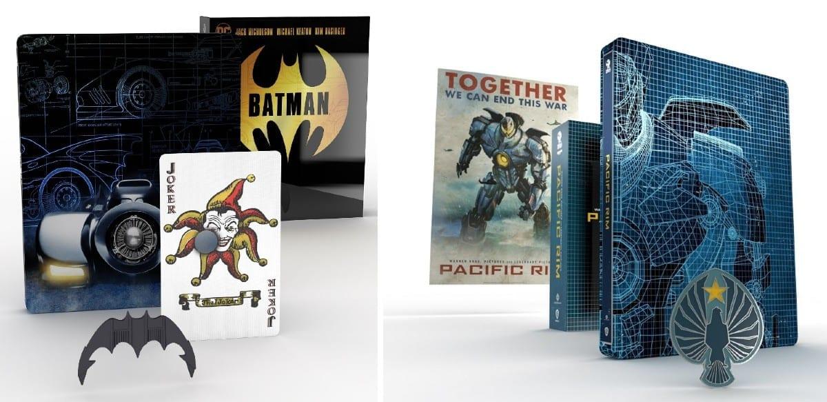 Titans of Cult Edition: le Steelbook dedicate a Batman e Pacific Rim