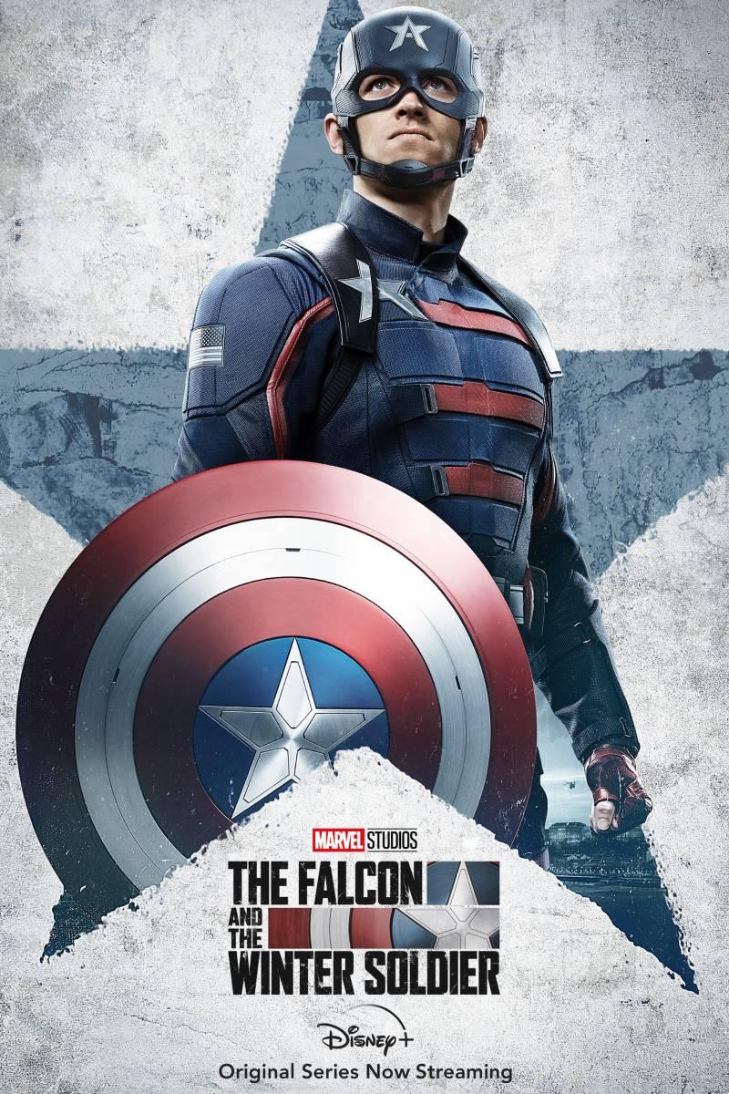 The Falcon and The Winter Soldier: il poster dedicato a US Agent