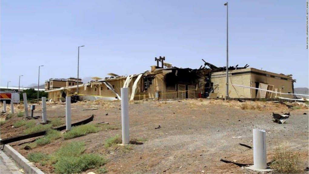 centrale nucleare iran danneggiata