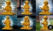 LEGO Harry Potter: svelate le sei minifigure dorate per l'anniversario