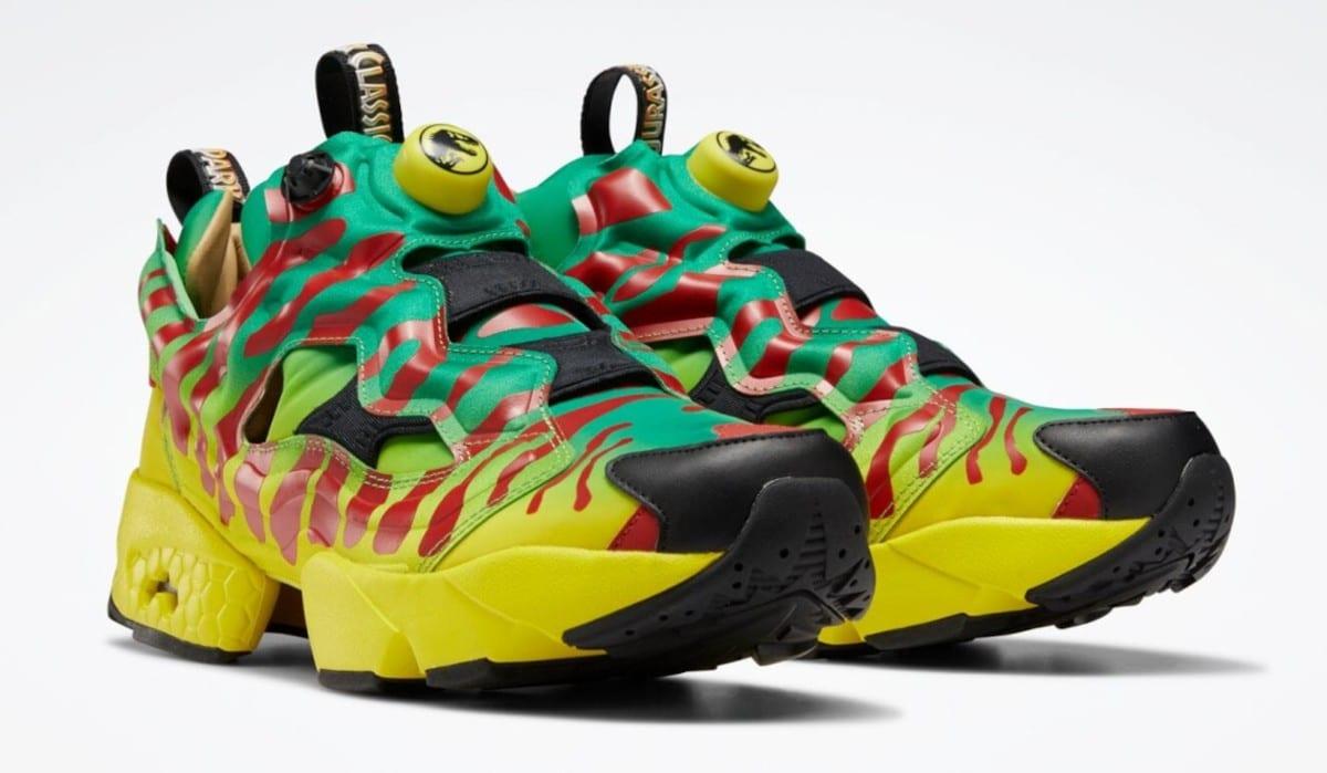 Reebok Jurassic Parc: arrivano le sneaker dedicate al film