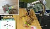 Robot trova gli oggetti nascosti emettendo onde radio