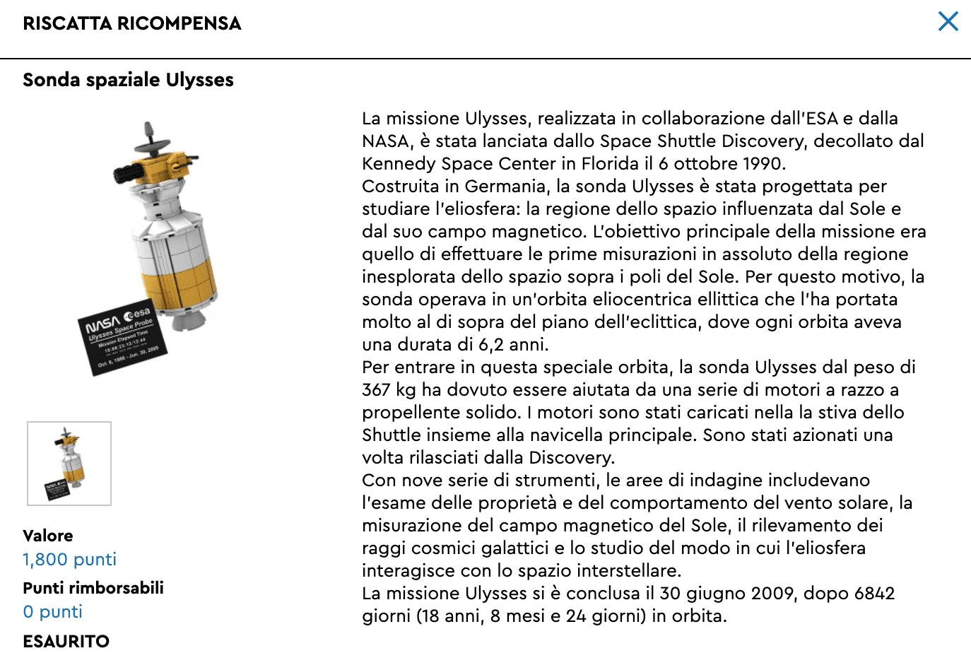 lego sonda ulysses