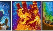 LEGO Hubble, ricrea i mosaici LEGO 3D con le immagini dei Pilastri della Creazione