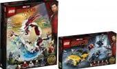 LEGO Shang-Chi: nuove immagini dei due set dedicati al film Marvel