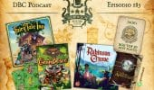 DBC 185: Fairy Tale Inn, GranBosco, Robinson Crusoe su Gamefound, BGG Top 50