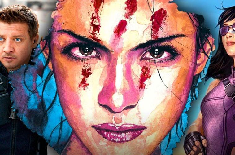 Hawkeye nuove immagini echo