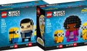 LEGO Minions: ufficiali i due set BrickHeadz dedicati al film The Rise of Gru